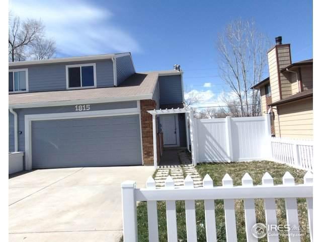1815 Antero Dr, Longmont, CO 80504 (MLS #908120) :: Kittle Real Estate