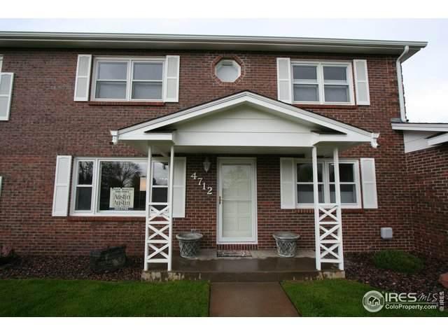 4712 W 12th St #2, Greeley, CO 80634 (MLS #911126) :: Hub Real Estate