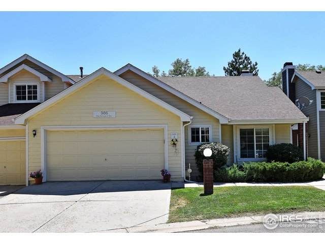 986 Richmond Dr #4, Fort Collins, CO 80526 (#920226) :: Re/Max Structure