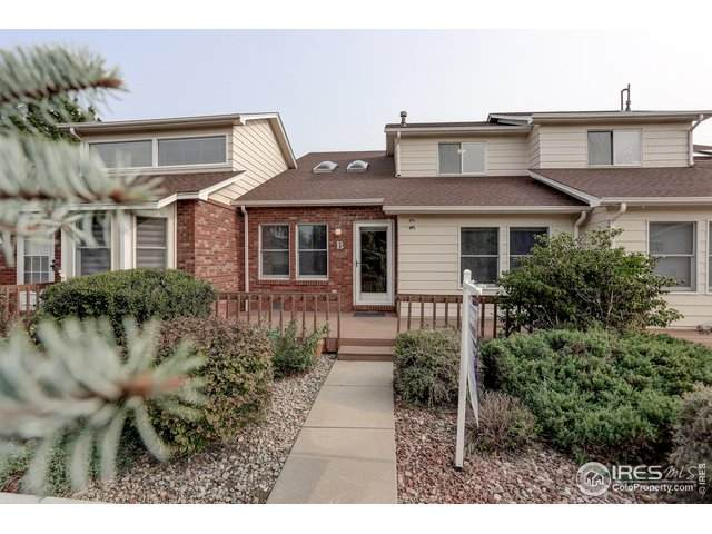 3449 Laredo Ln B, Fort Collins, CO 80526 (MLS #922981) :: The Sam Biller Home Team