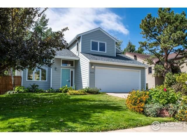 4243 Amber St, Boulder, CO 80304 (#923737) :: Peak Properties Group