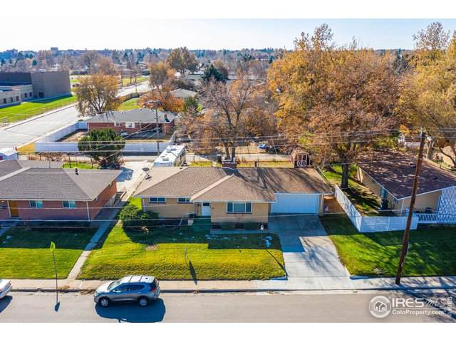 2208 11th St, Greeley, CO 80631 (MLS #927347) :: The Sam Biller Home Team