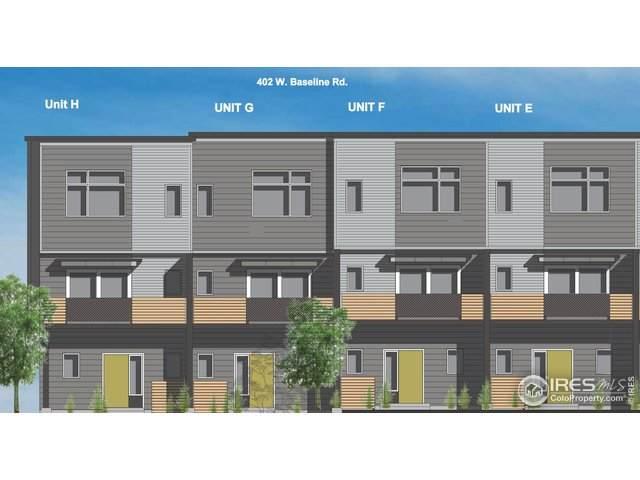 402 W Baseline Rd H, Lafayette, CO 80026 (MLS #929847) :: Tracy's Team