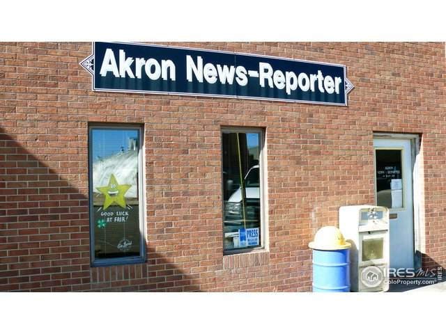 69 Main Ave, Akron, CO 80720 (MLS #931384) :: Downtown Real Estate Partners