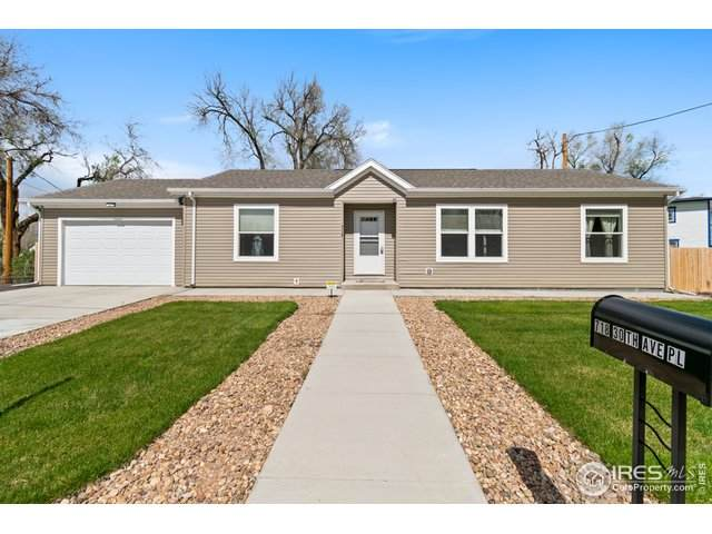 718 30th Ave Pl, Greeley, CO 80634 (MLS #939790) :: RE/MAX Alliance