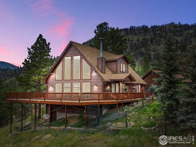 564 Copper Hill Rd, Glen Haven, CO 80532 (#943176) :: The Griffith Home Team