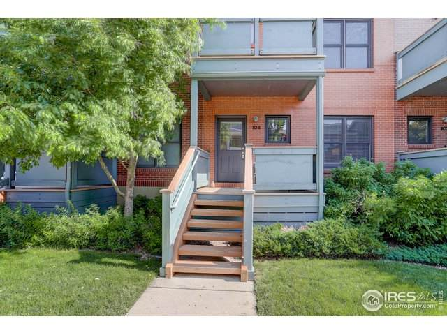 3215 Foundry Pl #104, Boulder, CO 80301 (MLS #943206) :: J2 Real Estate Group at Remax Alliance