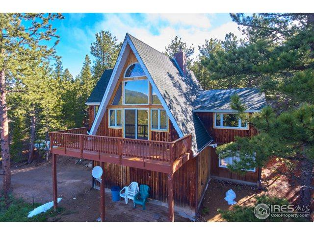 124 Old Stagecoach Trl, Rollinsville, CO 80474 (MLS #821601) :: 8z Real Estate