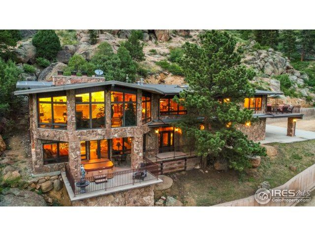 2701 Fall River Rd, Estes Park, CO 80517 (MLS #825531) :: Downtown Real Estate Partners