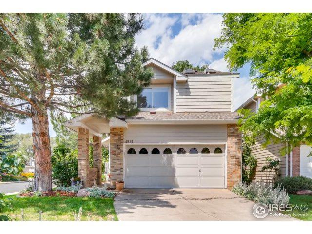 4891 Hopkins Pl, Boulder, CO 80301 (MLS #829022) :: 8z Real Estate