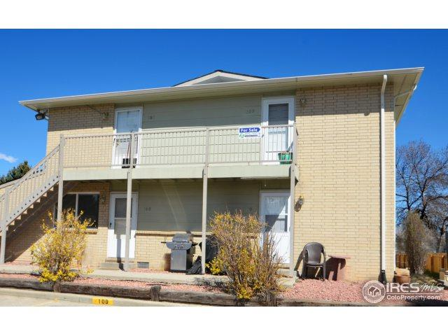 2003 Terry St #109, Longmont, CO 80501 (MLS #844334) :: The Daniels Group at Remax Alliance