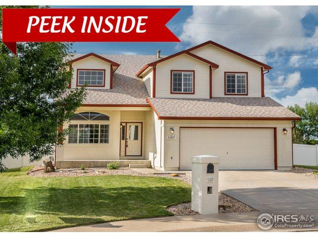 5307 W 5th St, Greeley, CO 80634 (#854228) :: The Peak Properties Group