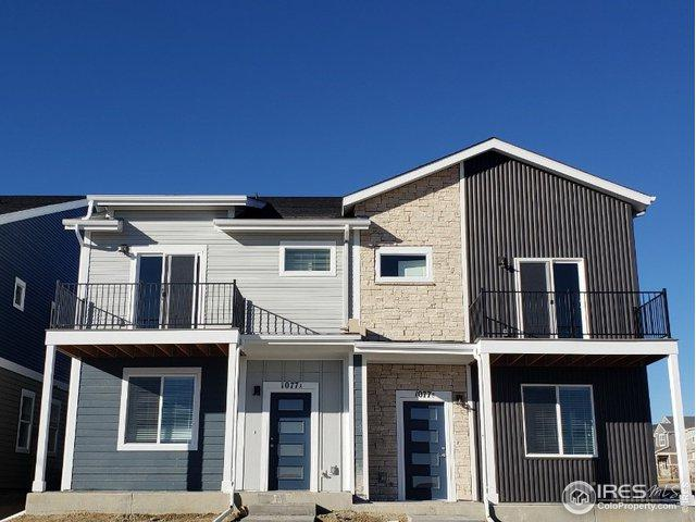 1087 Mountain Dr B, Longmont, CO 80503 (MLS #855552) :: The Lamperes Team