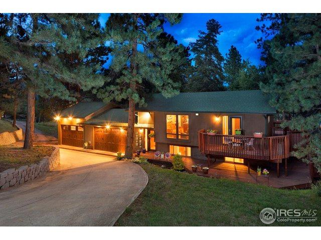120 Chipmunk Dr, Lyons, CO 80540 (MLS #859591) :: Kittle Real Estate