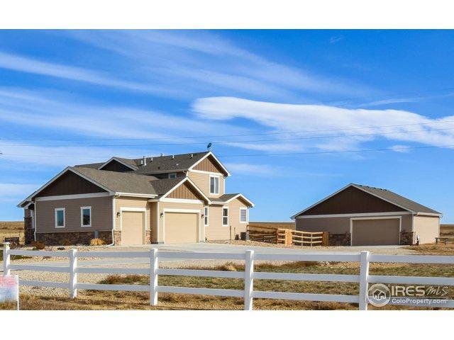 39552 Hilltop Cir, Severance, CO 80610 (MLS #867097) :: Kittle Real Estate
