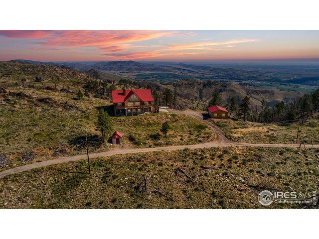 1234 Saddle Ridge Rd, Bellvue, CO 80512 (MLS #872484) :: Tracy's Team