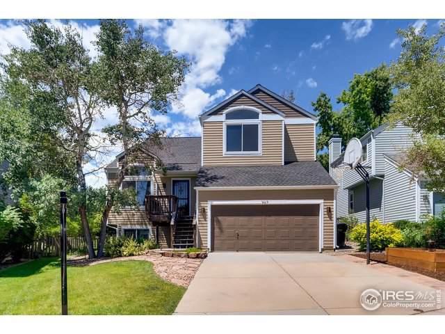 967 Arapahoe Cir, Louisville, CO 80027 (MLS #888148) :: 8z Real Estate