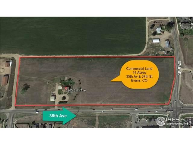 3903 35th Ave, Evans, CO 80620 (MLS #941064) :: Wheelhouse Realty