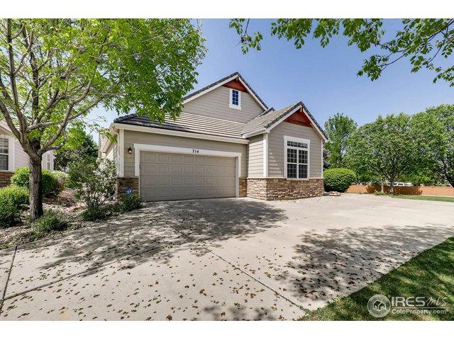 714 Windflower Dr, Longmont, CO 80504 (#850375) :: The Peak Properties Group
