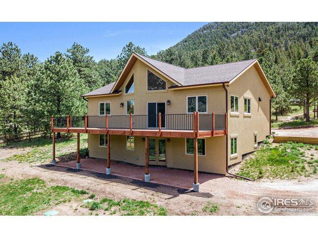 257 Estes Park Estates Dr, Lyons, CO 80540 (MLS #848373) :: 8z Real Estate
