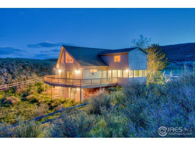 9540 Arapahoe Valley Rd, Laporte, CO 80535 (MLS #850601) :: Kittle Real Estate