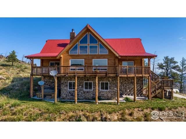 1234 Saddle Ridge Rd, Bellvue, CO 80512 (MLS #872484) :: Tracy's Team