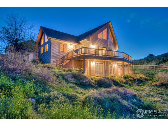9540 Arapahoe Valley Rd, Laporte, CO 80535 (MLS #850601) :: The Daniels Group at Remax Alliance