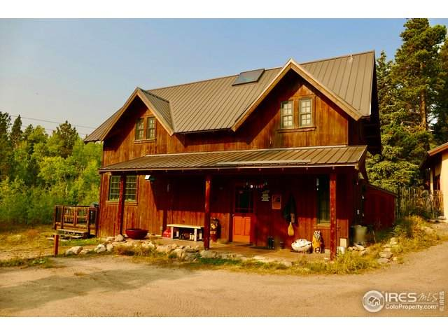 8465 Highway 7, Allenspark, CO 80510 (#925129) :: James Crocker Team
