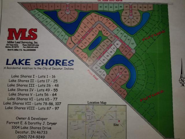 Lake Shores Dr Drive, Decatur, IN 46733 (MLS #201840951) :: TEAM Tamara