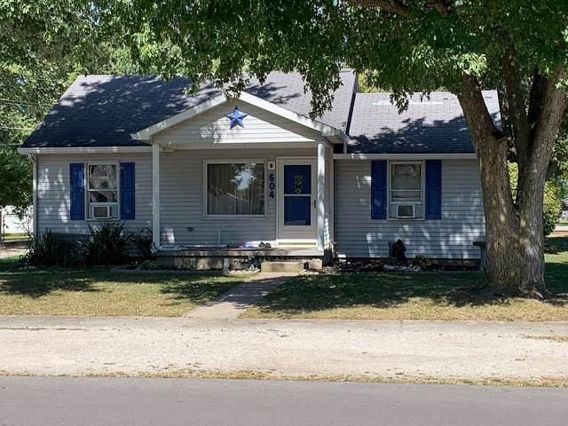 604 W Howard Street, Parker City, IN 47368 (MLS #201953395) :: The ORR Home Selling Team