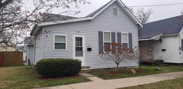 553 W Armstrong St Street, Frankfort, IN 46041 (MLS #202001431) :: The Romanski Group - Keller Williams Realty