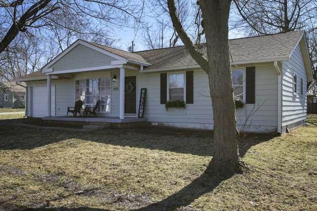 539 W Oak Street, Parker City, IN 47368 (MLS #202006250) :: The ORR Home Selling Team