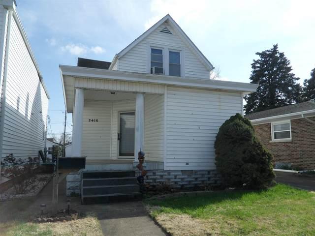 2416 W Virginia Street, Evansville, IN 47712 (MLS #202011908) :: The ORR Home Selling Team