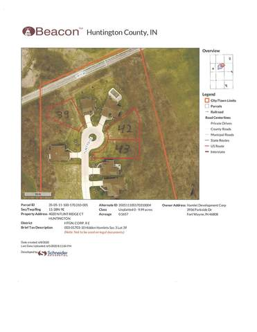 4020 N Flint Ridge Court, Huntington, IN 46750 (MLS #202021772) :: TEAM Tamara
