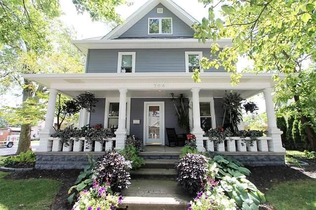 204 W Columbia Street, Flora, IN 46929 (MLS #202032346) :: The Romanski Group - Keller Williams Realty