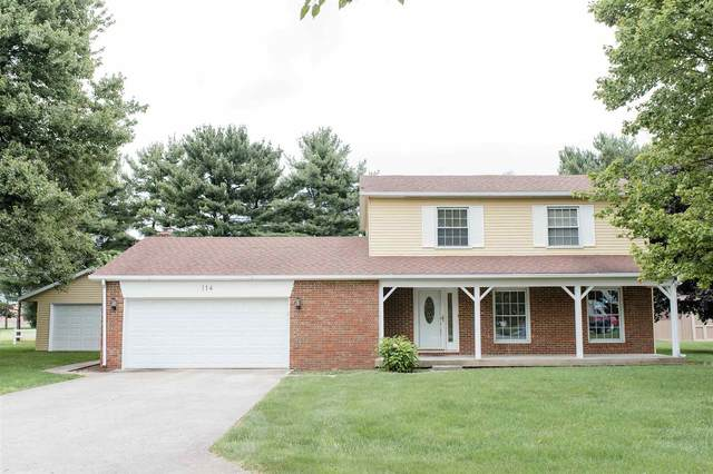 114 Dover Avenue, Tipton, IN 46072 (MLS #202032575) :: The Carole King Team