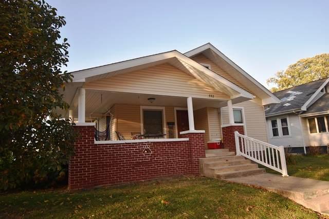 552 Glendale Drive, Frankfort, IN 46041 (MLS #202042060) :: The Romanski Group - Keller Williams Realty