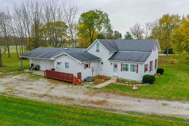 1763 W Old Slocum Trail, LaFontaine, IN 46940 (MLS #202043329) :: The Romanski Group - Keller Williams Realty