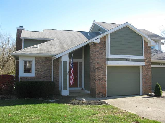 8113 Talliho Drive, Indianapolis, IN 46256 (MLS #202045382) :: The ORR Home Selling Team
