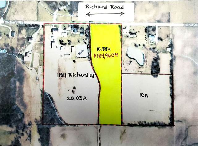 TBD Richard (10.88 Acres) Road, Churubusco, IN 46723 (MLS #202046791) :: TEAM Tamara