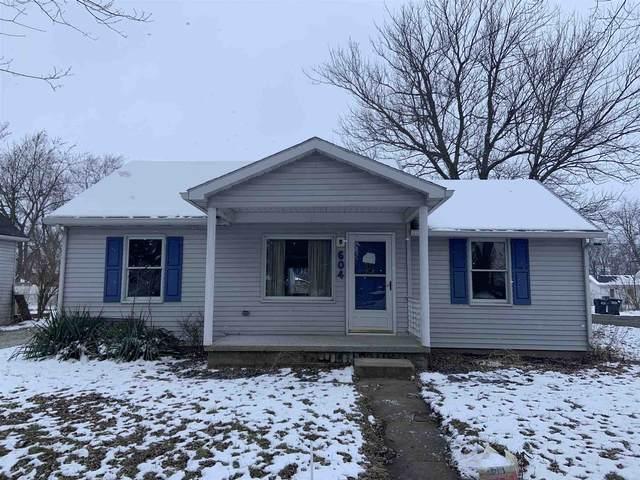 604 W Howard Street, Parker City, IN 47368 (MLS #202101753) :: The ORR Home Selling Team