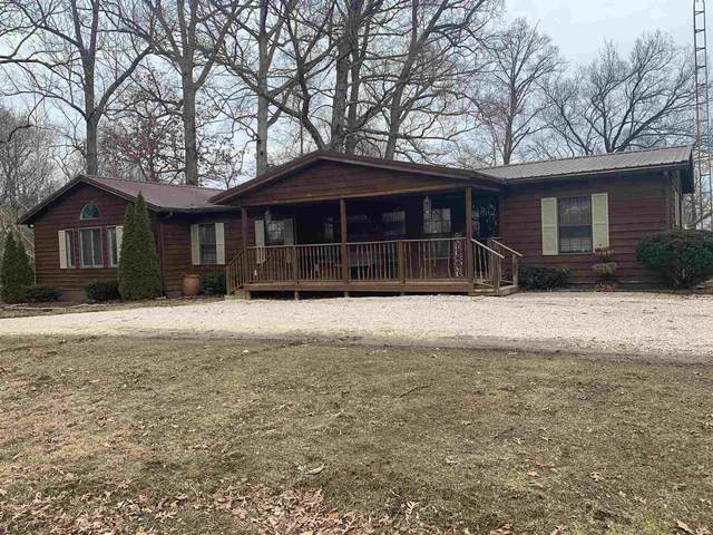 2266 Vfw Road, Mitchell, IN 47446 (MLS #202106060) :: The Natasha Hernandez Team