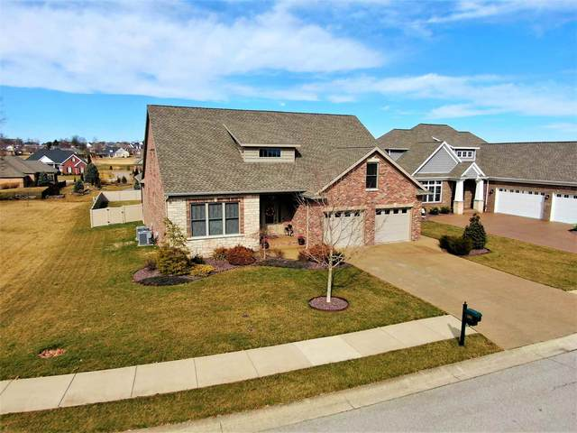 1204 Ladbrooke Drive, Evansville, IN 47725 (MLS #202106286) :: The Dauby Team