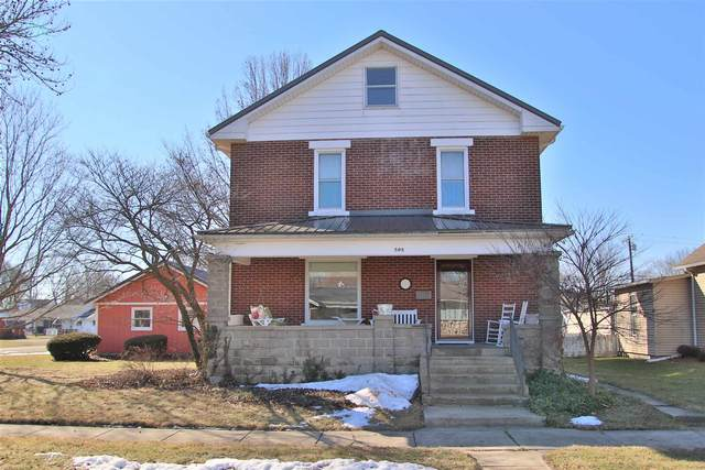 505 W Harrison Street, Monticello, IN 47960 (MLS #202106610) :: The Romanski Group - Keller Williams Realty