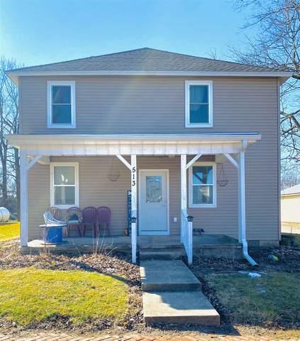 513 E Washington Street, New Richmond, IN 47967 (MLS #202106947) :: The Romanski Group - Keller Williams Realty
