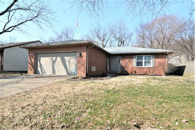 663 Glenmoor Drive, Evansville, IN 47715 (MLS #202107192) :: The ORR Home Selling Team