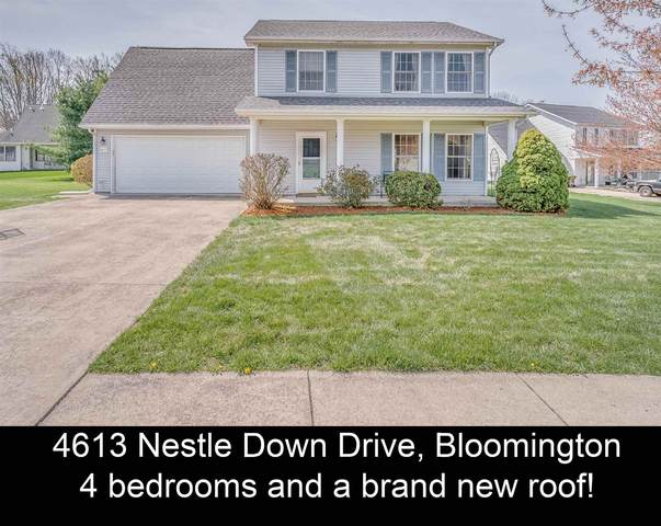 4613 W Nestle Down Drive, Bloomington, IN 47404 (MLS #202111496) :: The Dauby Team