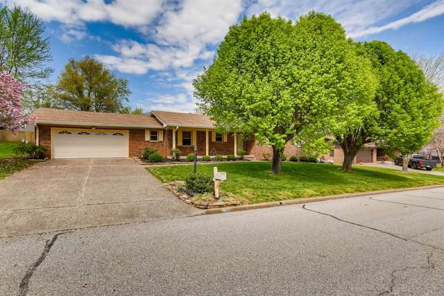 1811 Tanglewood Drive, Mount Vernon, IN 47620 (MLS #202111911) :: The Dauby Team