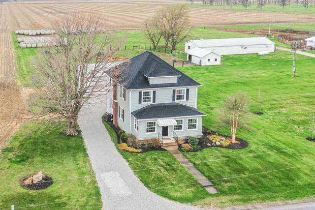 4474 S 400 E Road, Tipton, IN 46072 (MLS #202112608) :: The Romanski Group - Keller Williams Realty