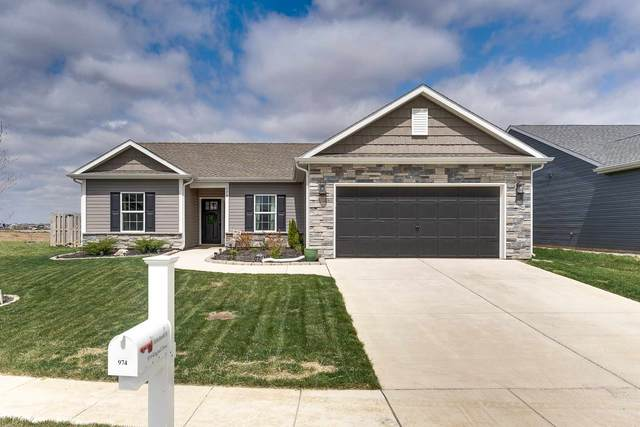 974 Kingrail Drive, West Lafayette, IN 47906 (MLS #202112791) :: The Carole King Team